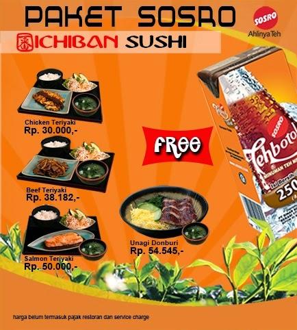 Harga Menu Ichiban Sushi - http://www.ichibansushi.co.id