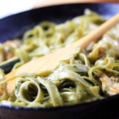 Creamy Spinach Pasta Recipe