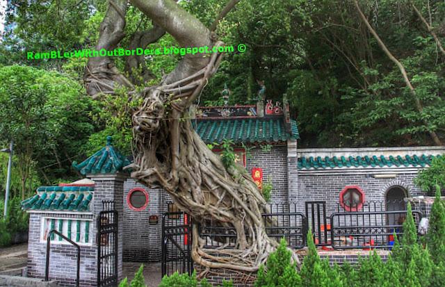 Kwum Yum Temple, Ap Lei Chau, hong kong