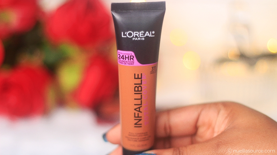 L'Oreal Infallible Total Cover Foundation 311 Creme Cafe