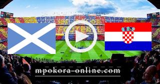 مشاهدة مباراة كرواتيا واسكوتلندا بث مباشر كورة اون لاين 22-06-2021 يورو 2020