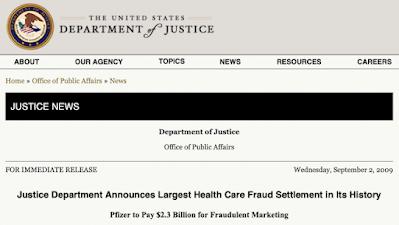 Il più grande accordo di frode sanitaria