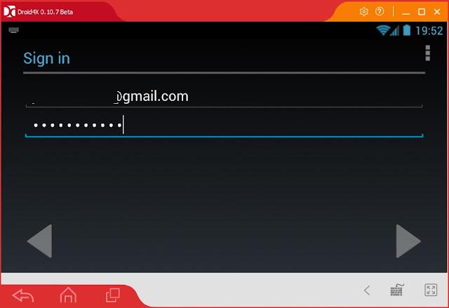 Đăng nhập cửa hàng Ch Play - Google Play Store trên Droid4X b