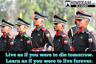 INDIAN ARMY HIMEXAM
