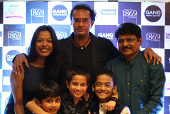 1869 STAR CAST INCLUDING RAGHUBIR YADAV AND DIRECTOR PRANAV HARIHAR SHARMA AT INORBIT MALL, MALAD