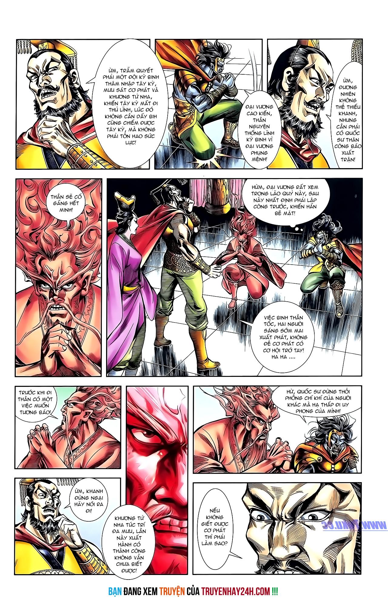 Cơ Phát Khai Chu Bản chapter 152 trang 29