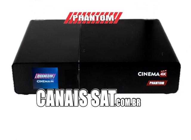 Phantom Cinema 4K Atualização V2.0.7.08 - 18/02/2021