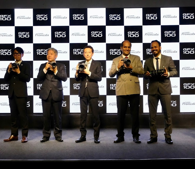 Fujifilm, Fujifilm India, GFX100, Premista, Fujiflm GFX100, #TheKingOfMirrorless, GFX100 India Launch, Fujifilm X Series, GFX100 Launch In Mumbai, #Revolution100, FujifilmX India, Tech, Technology, Happening Heads, #HappeningHeads