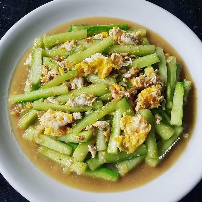 Resep Kreasi Dapur Cah Timur Telur