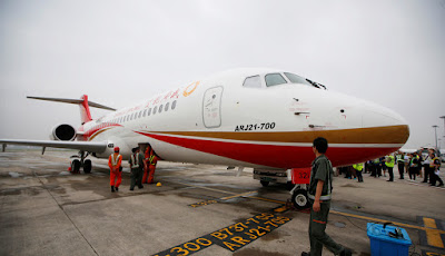 """Mỹ chưa cấp phép cho máy bay """"made in China"""""""