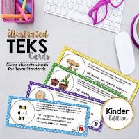 https://www.teacherspayteachers.com/Product/Kindergarten-TEKS-Illustrated-and-Organized-298426
