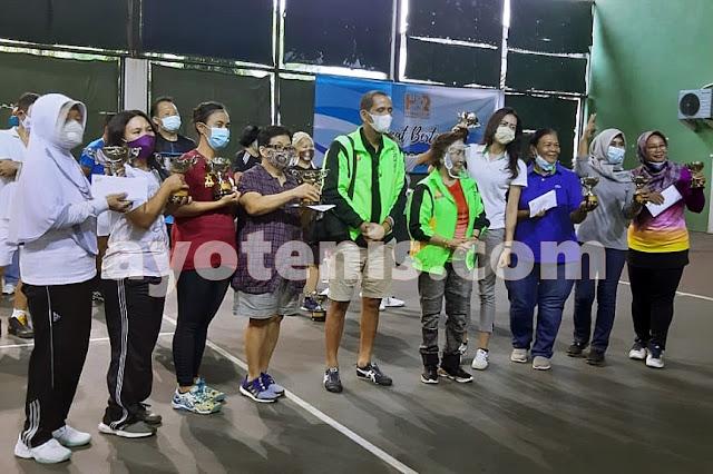 Endah Mutiara/Endah Atmala Zuni Juara Turnamen Tenis Baveti Araya-Sier Surabaya Cup I tahun 2020