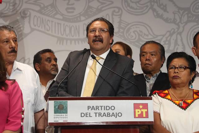 PT respalda al diputado Mauricio Toledo ante intento de desafuero