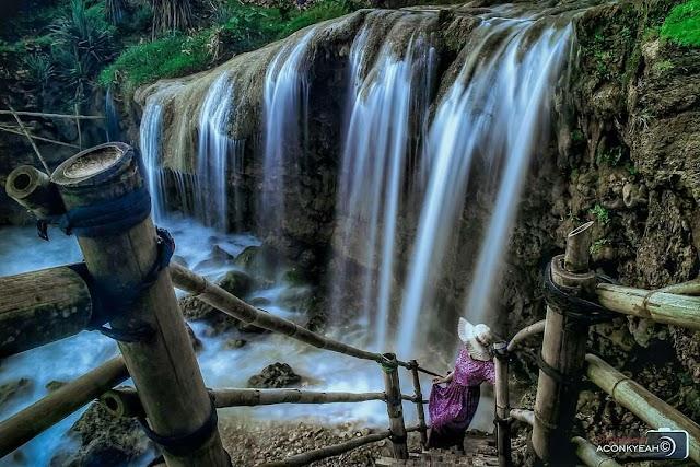 Pantai Jogan Gunung Kidul, Wisata Pantai Sekaligus Air Terjun