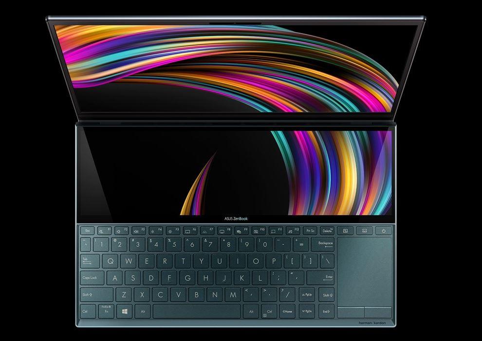 Desain Asus ZenBook Duo UX481