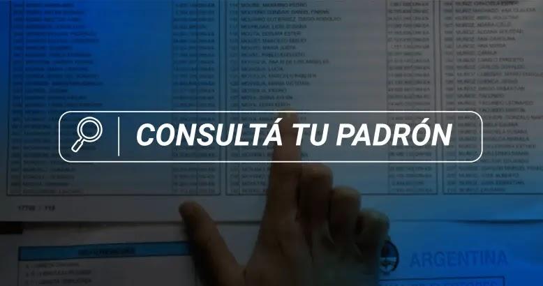 Padron Electoral Paso 2021