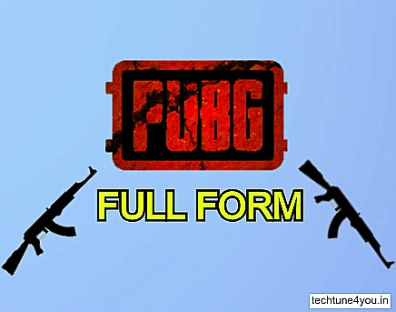 PUBG Full Form