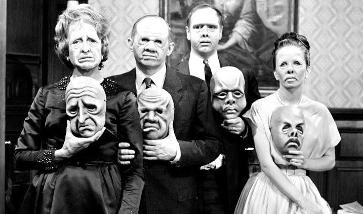 The Twilight Zone Inspiration: The Masks