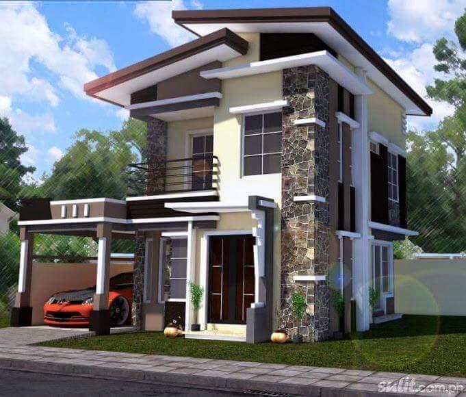 10 Desain Rumah 2 Lantai Modern Elegan Unik