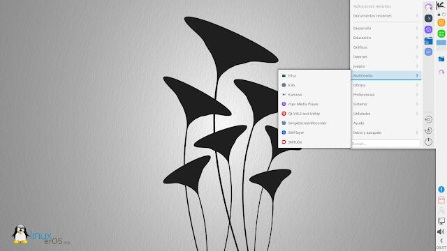 KaOS Linux 2020.09 Disponible con KDE Plasma 5.19.5 y Calamares - Menú Desplegable