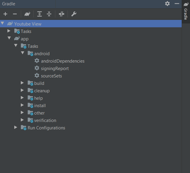 Find SHA-1 in Android Studio