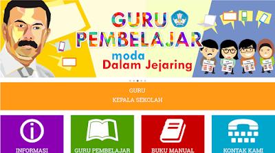 Jadwal Pelaksanaan Daring atau Guru Pembelajar