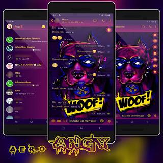Woof Dog Theme For YOWhatsApp & Aero WhatsApp By Ave fénix