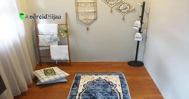 inspirasi musholla rumah minimalis dengan ruangan kecil
