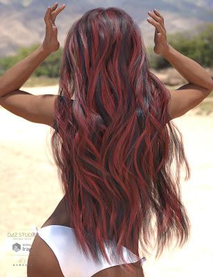 Olenna Hair for Genesis 3 Female(s)