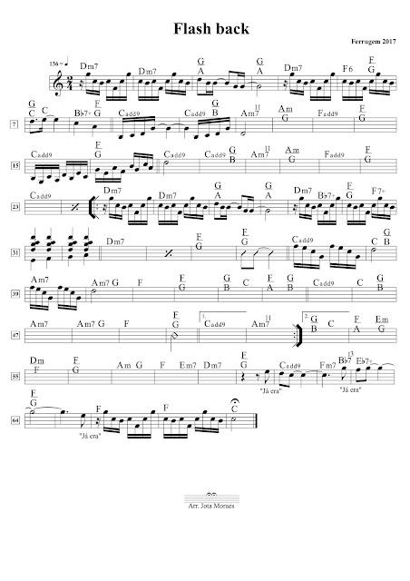 Ferrugem, flashback, partitura