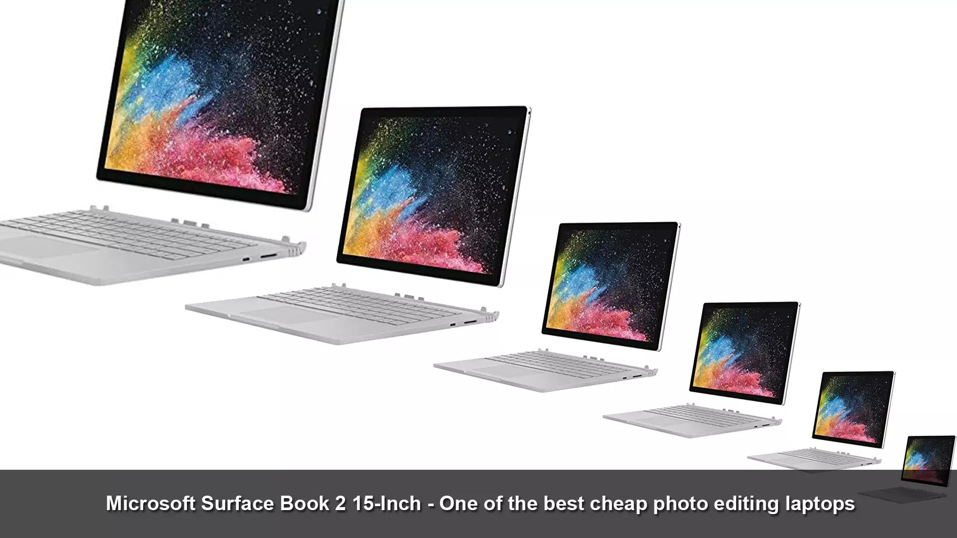 Microsoft Surface Book 2 15-Inch - one of the best cheap photo editing laptops