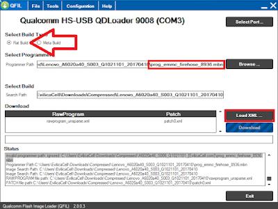 Flash Lenovo Vibe K5 (A6020a40)