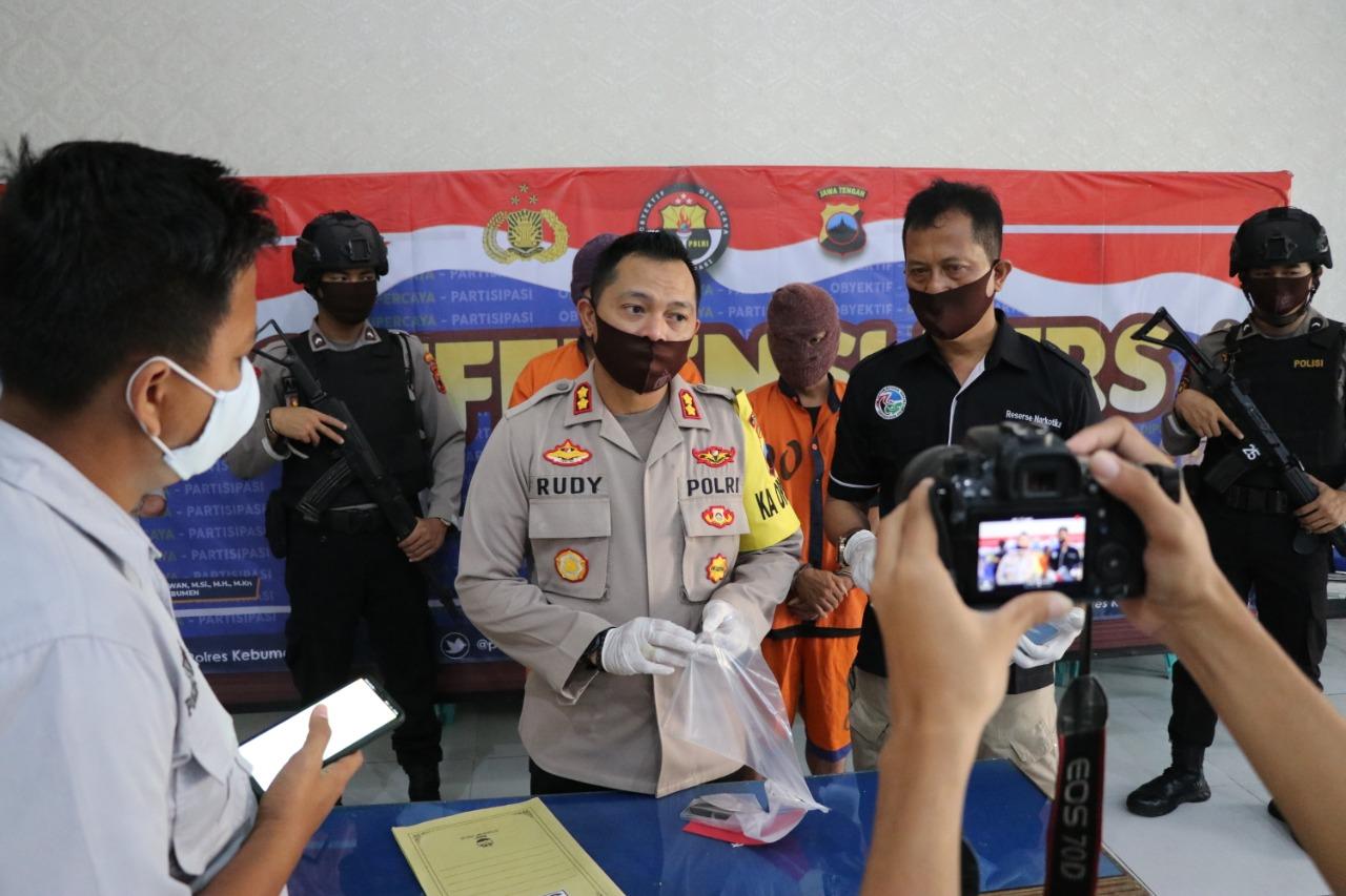Beli Sabu Seharga Rp 700 Ribu, Warga Kebumen Diamankan Polisi