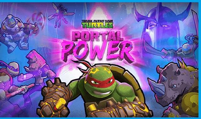 تحميل لعبة TMNT: Portal powerلنضام iOS
