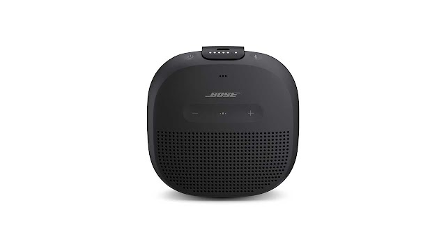 Bose SoundLink Micro Portable Outdoor Speaker, (Wireless Bluetooth Connectivity), Midnight Blue
