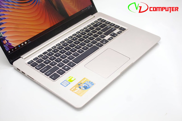 Laptop Asus  A510 với thiết kế siêu di động tối ưu về độ mỏng nhẹ giúp