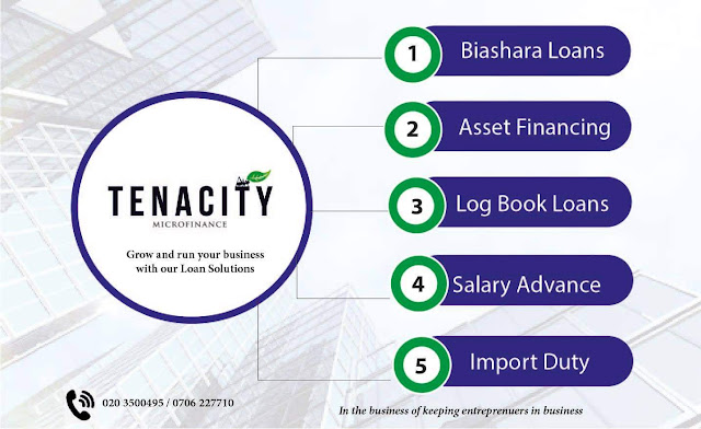 Tenacity microfinance loans