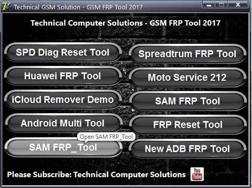 Multiple Frp Tool Pack 2017 Free Download