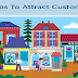 5 Tips to Attract Customers #infographic