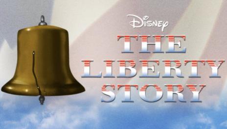 The Liberty Story Disney Plus Logo