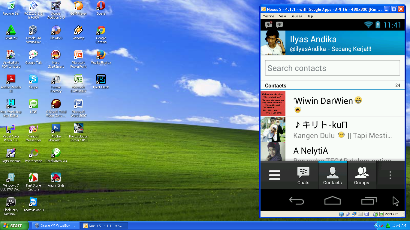 BBM (Blackberry Messenger) di PC - Komputer, Laptop, atau Netbook