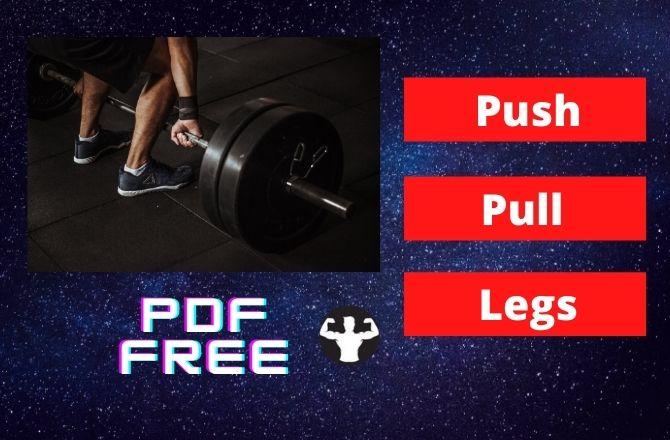 Download Push Pull Legs Split Schedule