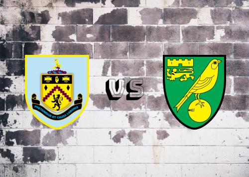 Burnley vs Norwich City  Resumen