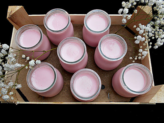 iogurte gelatina de morango sem acucar