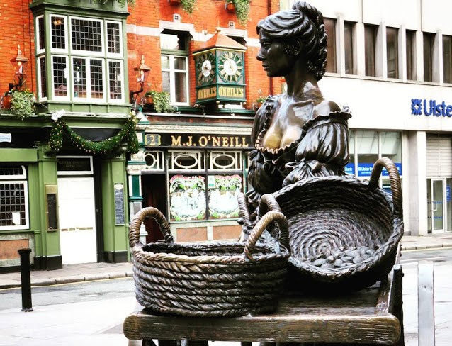 Dublin in a Day: Molly Malone Statue