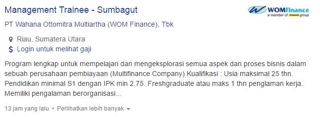 Lowongan Kerja Kabupaten Kampar Terbaru 2019