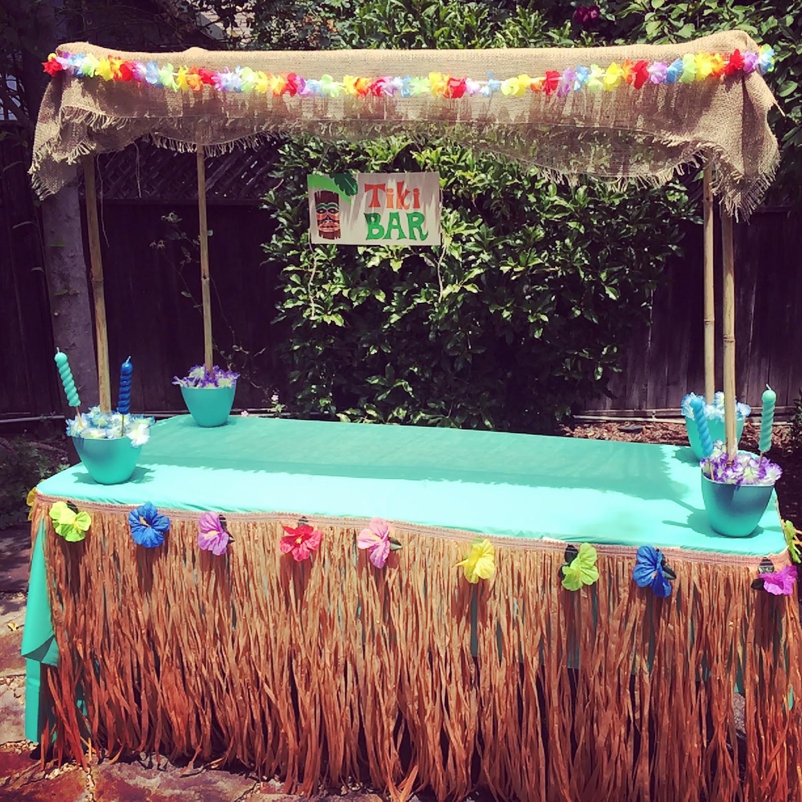 Magnolias and Sunlight: Get Lei'd: The Tiki Birthday Bash!