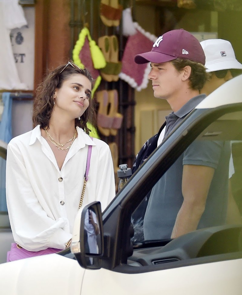 Taylor Hill and her New Boyfriend Daniel Fryer – Vacation in Portofino 23 Jul -2020