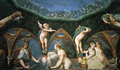 Voyeurismo, desnudez femenina, pintura