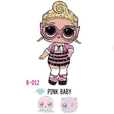 Pink Baby Bling Series